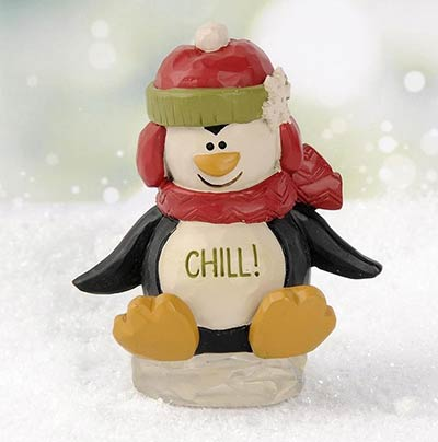 Chill Penguin on Ice