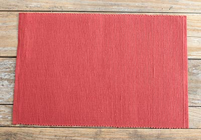 Russet Ribbed Placemat