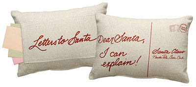 Dear Santa Pocket Pillow