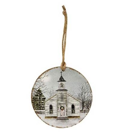 I Heard The Bells On Christmas Day Ornament