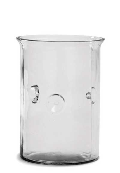 Votive Glass Cylinder - 7 inch