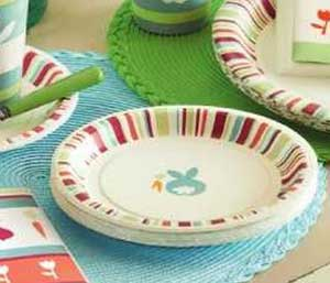 Cottontail Paper Plates