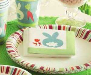 Cottontail Paper Cocktail Napkins