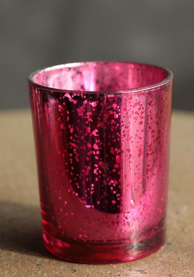 Spring Luster Votive - Pink