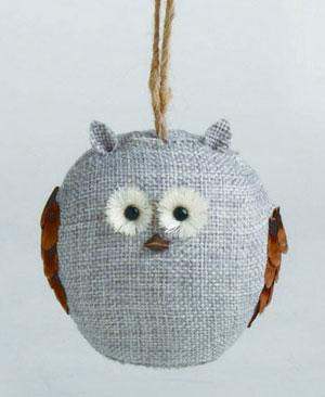 Chalet Owl Ornament