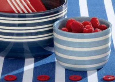 Summer Stripe Bowl