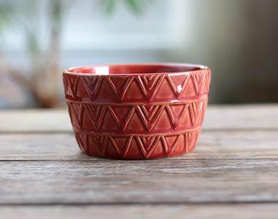 Sierra Stoneware Bowl - Cayenne