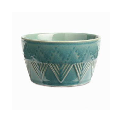 Sierra Stoneware Bowl - Azure Blue
