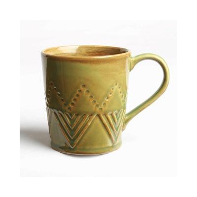 Sierra Stoneware Mug - Moss Green