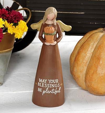 Plentiful Blessings Fall Angel
