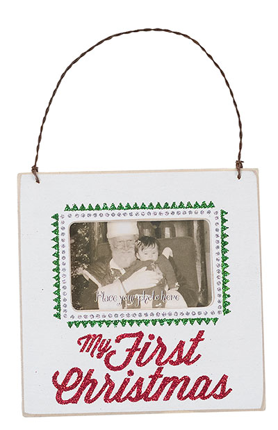 My First Christmas Frame, Ornament, or Magnet