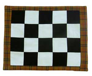 Harvest Time Mini Checkerboard Mat