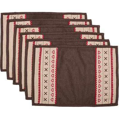 Merry Little Christmas Placemats (Set of 6)