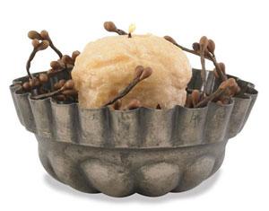 Pudding Mold Candle Pan
