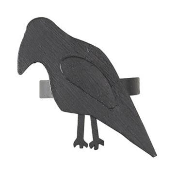 Olde Crow Napkin Ring