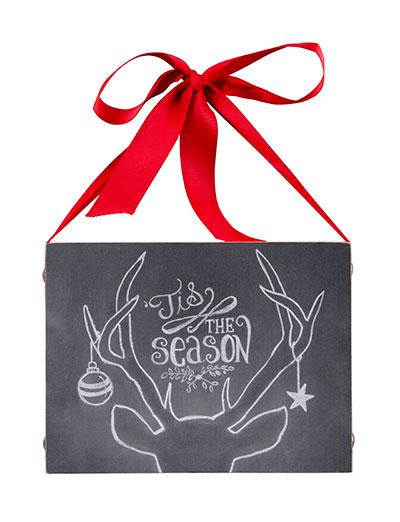 Tis the Season Chalk Sign