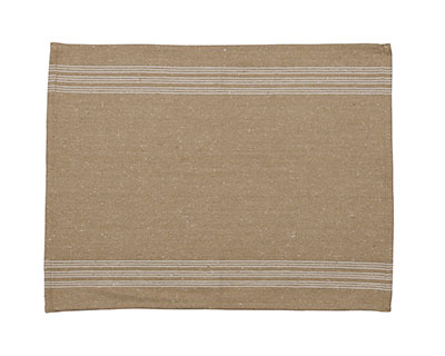 Rustic Striped Placemat - Cream Stripes