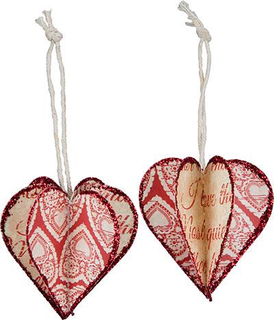 3D Heart Ornament