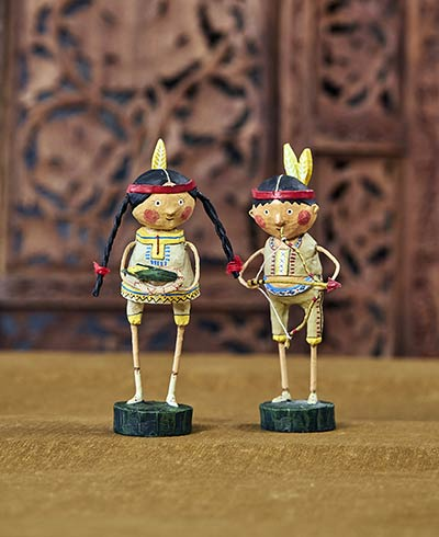 Indian Guide & Princess (Set of 2)