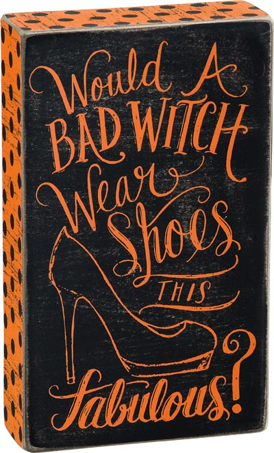 Would a Bad Witch Box Sign