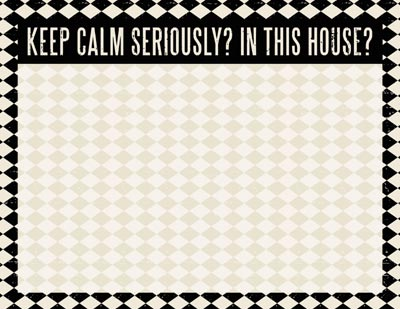 Keep Calm Note Pad