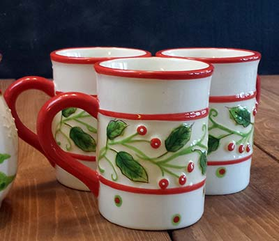 Holly Ceramic Mug
