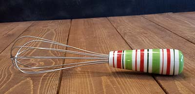 Holiday Stripe Whisk