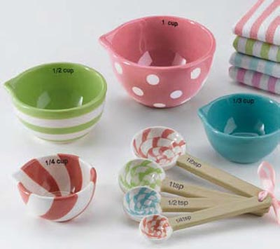 Sweet Shoppe Measuring Cups (Set of 4)