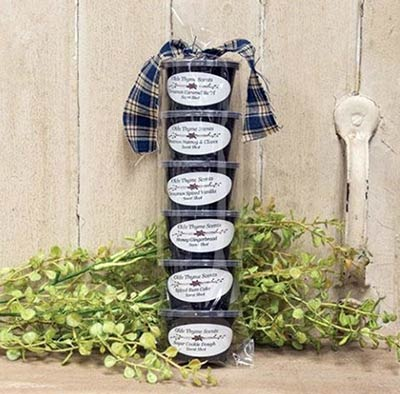 Christmas Thyme Scented Wax Shots (Set of 6)