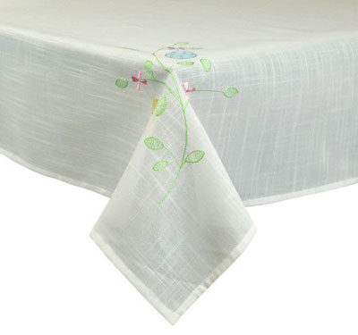 Easter Egg Garden Tablecloth - 60 x 84 inch