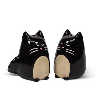 Black Cat Salt & Pepper