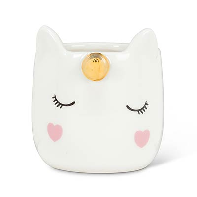 Mini Unicorn Ceramic Pot
