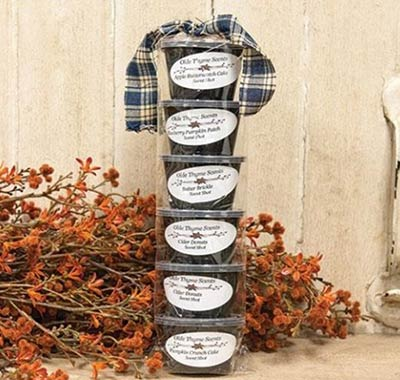 Fall Thyme Scented Wax Shots (Set of 6)
