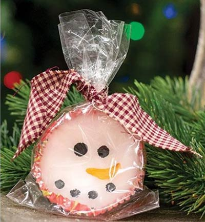 Snowman Scented Wax Melt