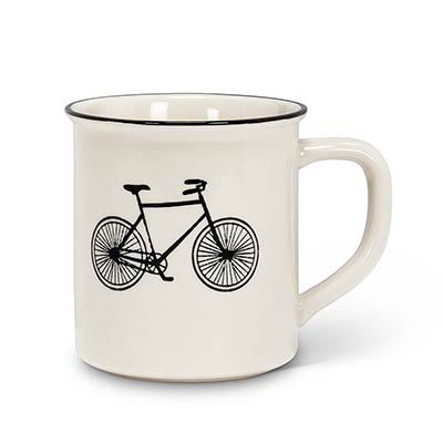 Bicycle Mugs (Set of 4)