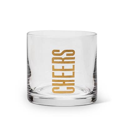Cheers Lowball Glasses (Set of 4)