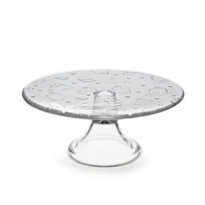 Small Cupcake Pedestal Plate