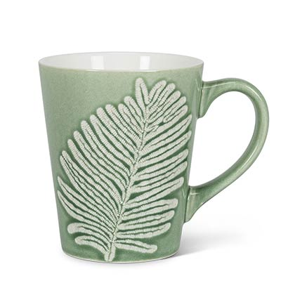 Jungle Leaf Mugs (Set of 6)