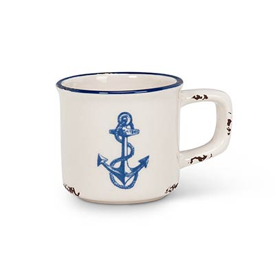Anchor Espresso Mugs (Set of 6)