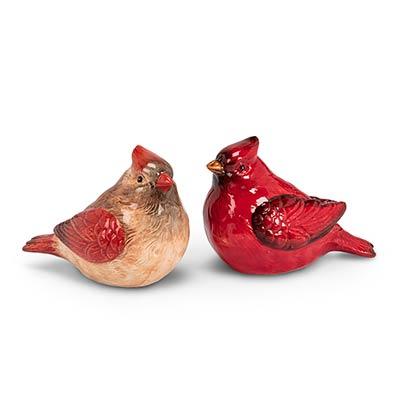 Cardinal Salt & Pepper Shaker Set