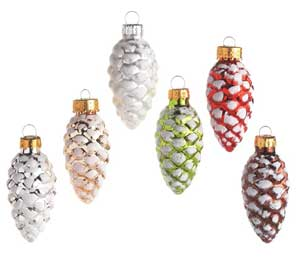 Mini Pinecone Ornament
