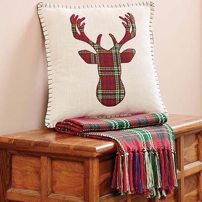 Connor Deer Decorative Pillow