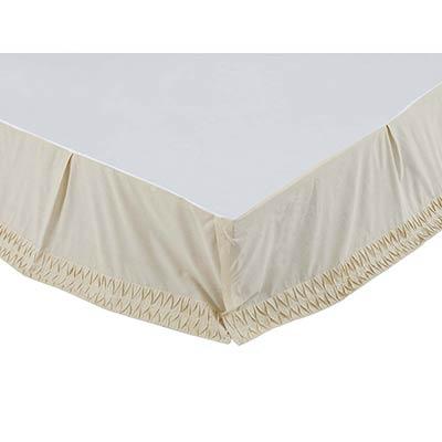 Adelia Creme Queen Bed Skirt