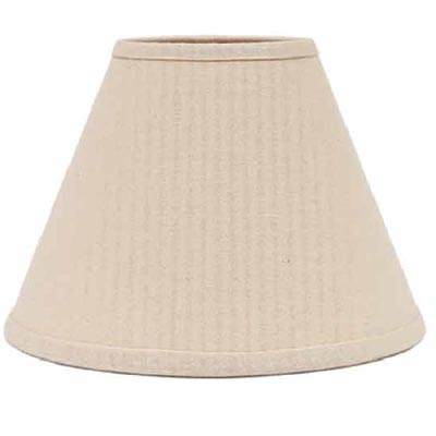 Farm House Solid BUTTERMILK Lamp Shade - 12 inch