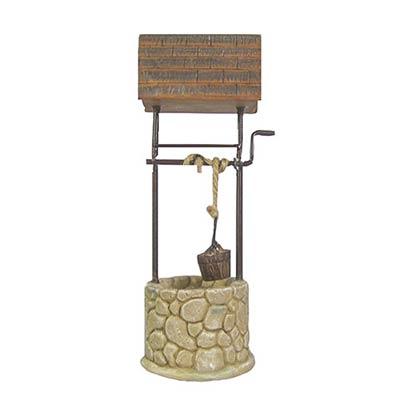 Miniature Dollhouse FAIRY GARDEN Furniture ~ Woodland Wishing Well