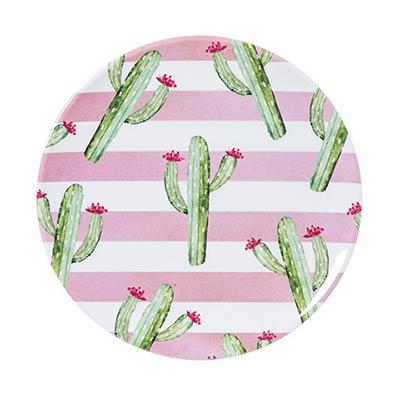 Cactus Melamine Plates (Set of 4)
