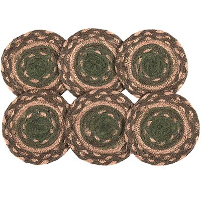 Barrington Braided Coasters (Set of 6)