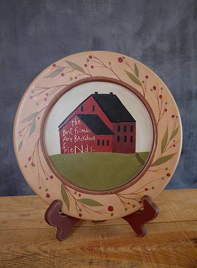 Backdoor Friends Primitive Plate