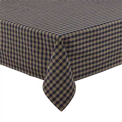 Sturbridge Tablecloth - Navy (60 x 84)