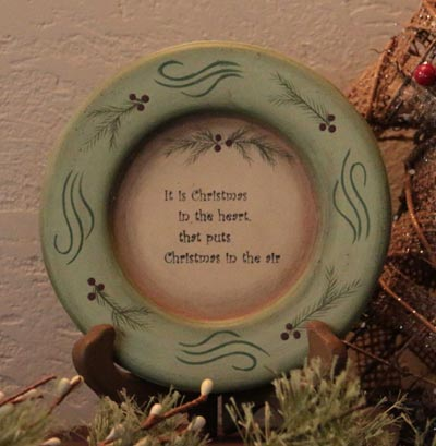 Christmas in the Heart Plate